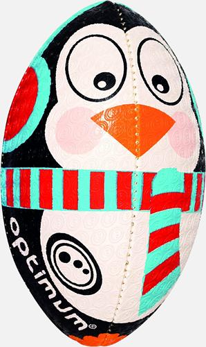 Kerst Pinguin rugbybal maat 5