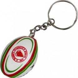 Gilbert rugbybal sleutelhanger Biarritz