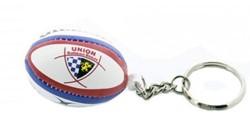 Gilbert rugbybal sleutelhanger Bordeaux