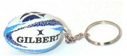 rugbybal sleutelhanger Schotland Flower of Scotland