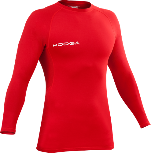 Kooga thermoshirt Power Shirt Pro div. kleuren  Bordeaux Rood - 2XL
