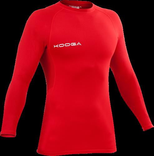 Kooga thermoshirt Power Shirt Pro div. kleuren  Rood - 2XL
