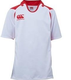 Canterbury Rugbyshirt Challenge  Zwart/rood - 128