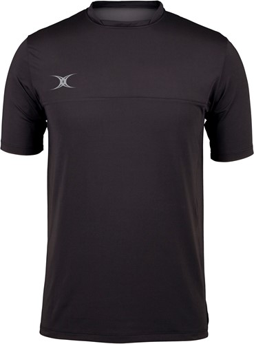 Gilbert TEE PRO TECH BLACK XS