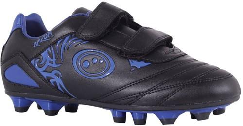 Optimum rugbyschoenen met klittebandsluiting Zwart / Blauw - 33