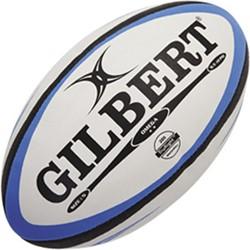 Gilbert rugbybal Match Omega Blu/Blk maat 5