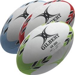 Gilbert rugbybal VX300, 25 st.  Rood - maat 5