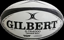 Gilbert rugbybal G-Tr4000 Black - maat 4