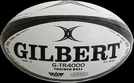 Rugbybal training G-Tr4000 Zwart maat 4