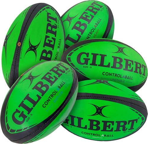 Gilbert RUGBYBAL SET CONTROL A BAL MAAT 5
