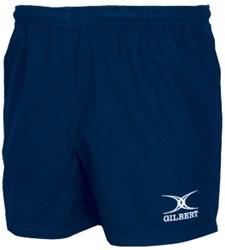 Gilbert Rugby broek kort Photon  Zwart - 146