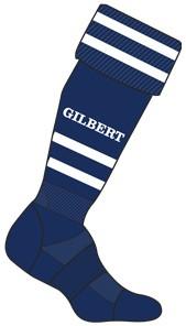 Gilbert Sock Training Ii Blk Sen 7-13