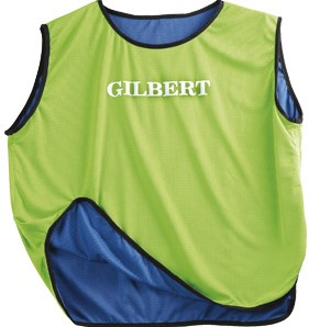 Gilbert Bib Reversible Blu/Grn Senior