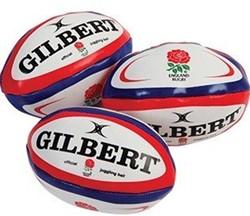 Gilbert Jongleer ballen Engeland (per 3)  Rood - Mini