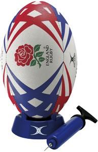 Gilbert Rugby Starterspack England  Rood - maat 4