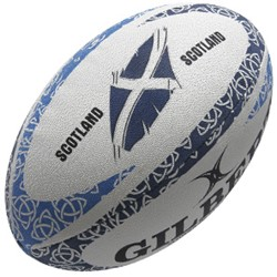 Gilbert rugbybal Anthem Scotland Fos - Mini