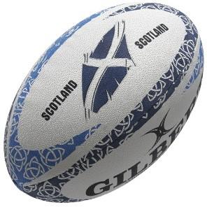 Gilbert rugbybal Anthem Schotland