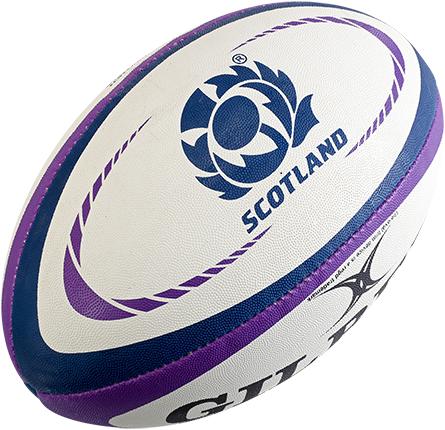 Gilbert rugbybal Replica Schotland Mini