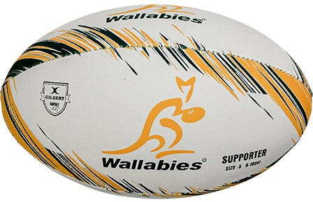Gilbert rugbybal Replica Australia Mini