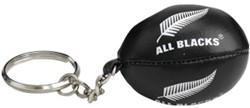 Gilbert Sleutelhanger All Blacks met bal Color : Zwart