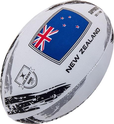 Gilbert rugbybal Supp New Zealand Sz 5