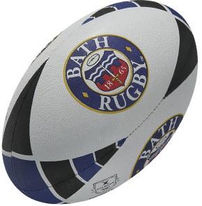 Gilbert rugbybal Bath Blauw - maat 5