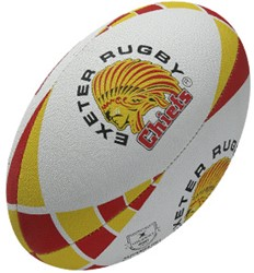 Gilbert Rugby bal Exeter  Geel - 5