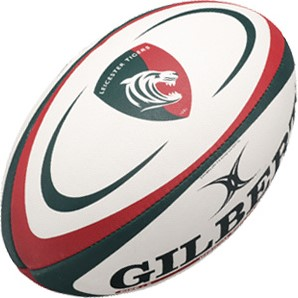 Gilbert rugbybal Replica Leicester Mini