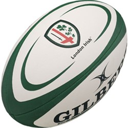 Gilbert rugbybal London Irish Groen - maat 5