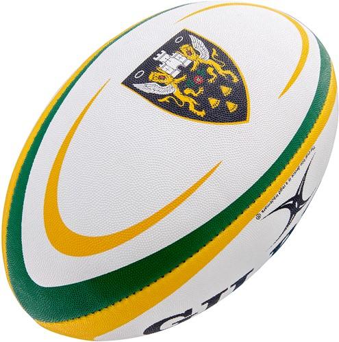 Gilbert rugbybal Supp Northampton Sz 5