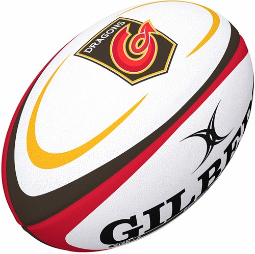 Gilbert rugbybal Supp Dragons Rugby Sz 4