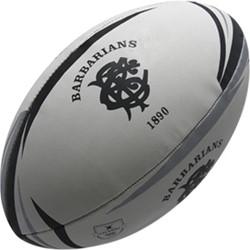 Gilbert rugbybal Barbarians  Zwart - 5