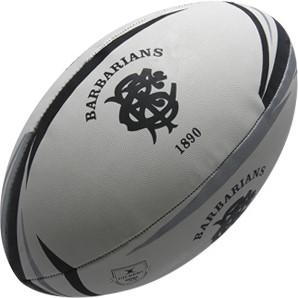 Gilbert rugbybal Supporter Barbarians Sz5