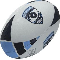 Gilbert Rugbybal Montpellier  Blauw - maat 5