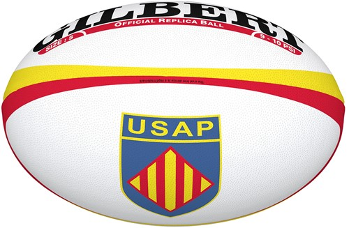 Gilbert rugbybal REPLICA PERPIGNAN - Mini 15cm