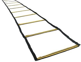 RHINO 8M FLAT LADDER WITH WEIGHTED RODS