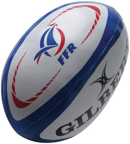 Rugbybal Sponge Frankrijk 15 cm
