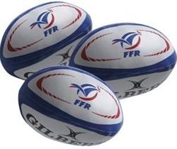 Gilbert Jongleer ballen Frankrijk (per 3)  Blauw - Mini
