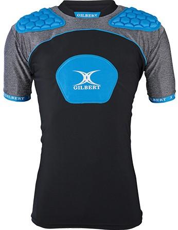 Gilbert Shoulderpads schouderbeschermming Atomic V3 Black/Blue