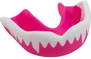 Gilbert Mouthguard Viper Roze / Wit Senior
