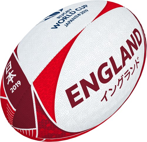 Rugbybal Rugby World Cup Engeland supporter maat 5
