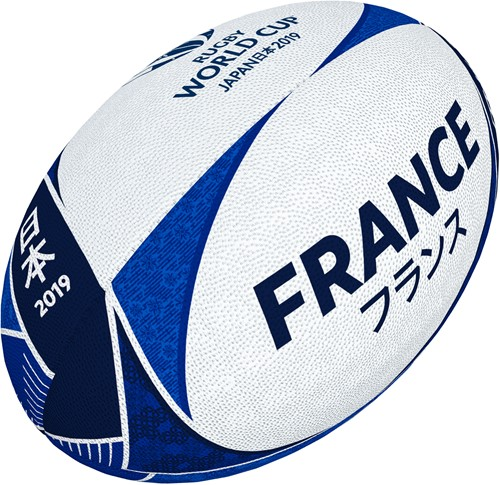 Rugbybal Rugby World Cup Frankrijk supporter maat 5