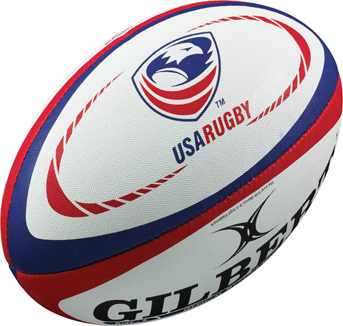 Gilbert rugbybal REPLICA USA - Mini 15cm