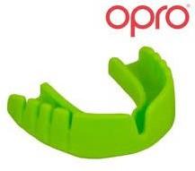 Opro Gebitsbescherming Snap Fit SR Groen past direct, geen water nodig