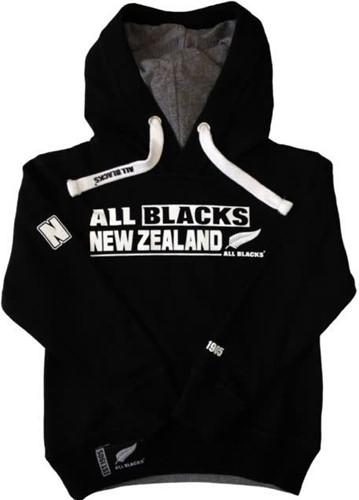 All Blacks Hoodie AB NEW ZEALAND  Zwart - 140