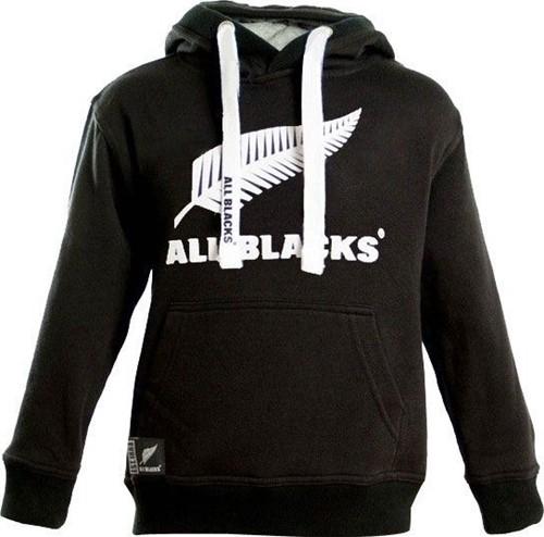 All Blacks All Blacks Hoodie kids  Zwart - 98