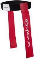 Optimum Tackle Belt & Flags - Rood set van 7 stuks