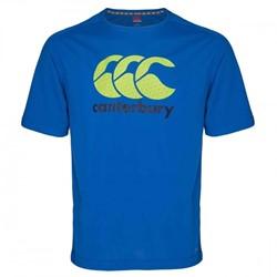 Canterbury T-shirt met logo sneldrogend VapoDri