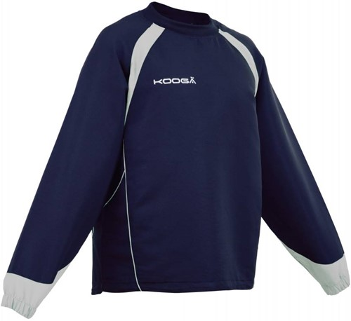 Kooga rugby trainingstop Vortex II Top  Blauw / grijs - SMJ