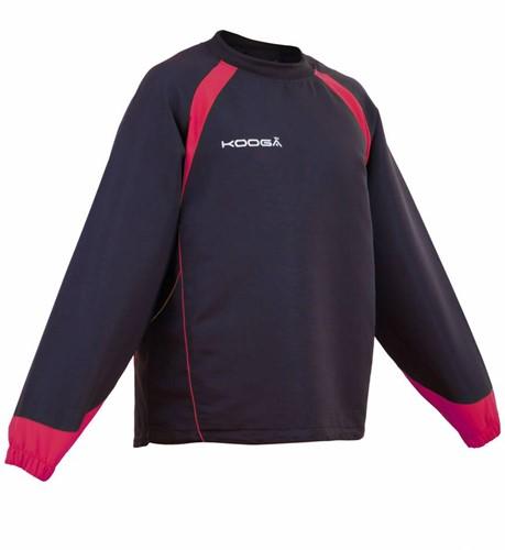 Kooga rugby trainingstop Vortex II zw/rd  zwart/rood - L